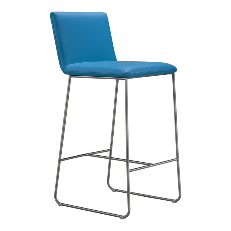 Nevia Bar Stool Blue