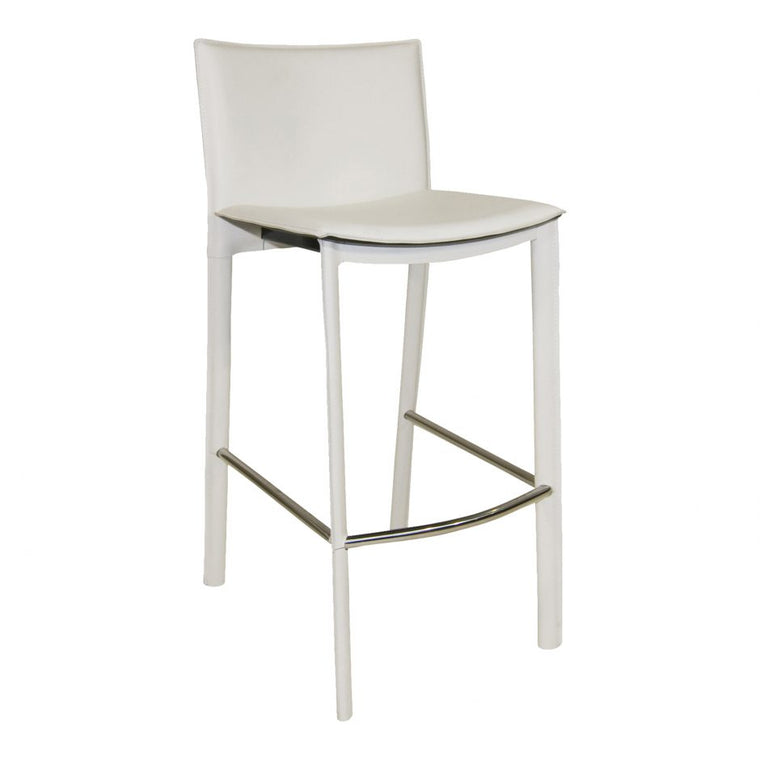 Fisher Counter Stool White
