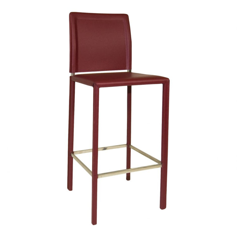 Ayers Barstool Red