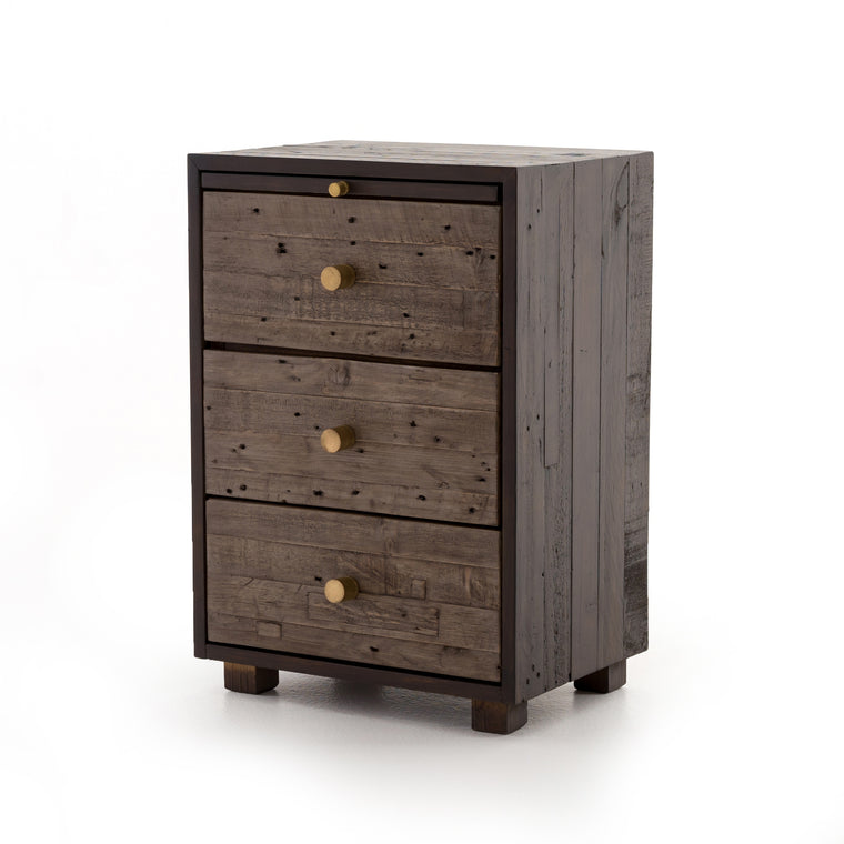 GAWEN 3 DRAWER NIGHTSTAND