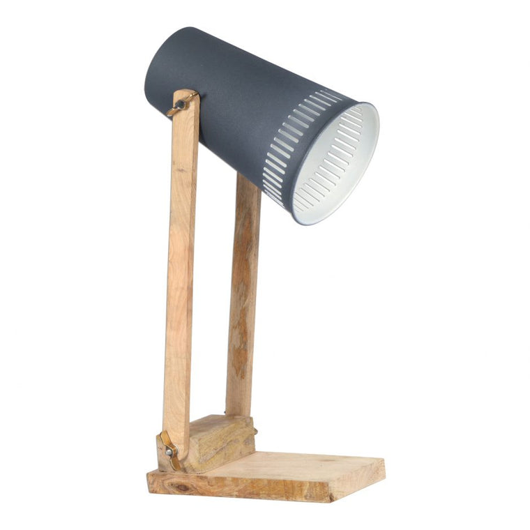 Gibbs Table Lamp Grey