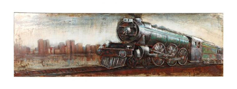 Vintage Locomotive Wall Decor