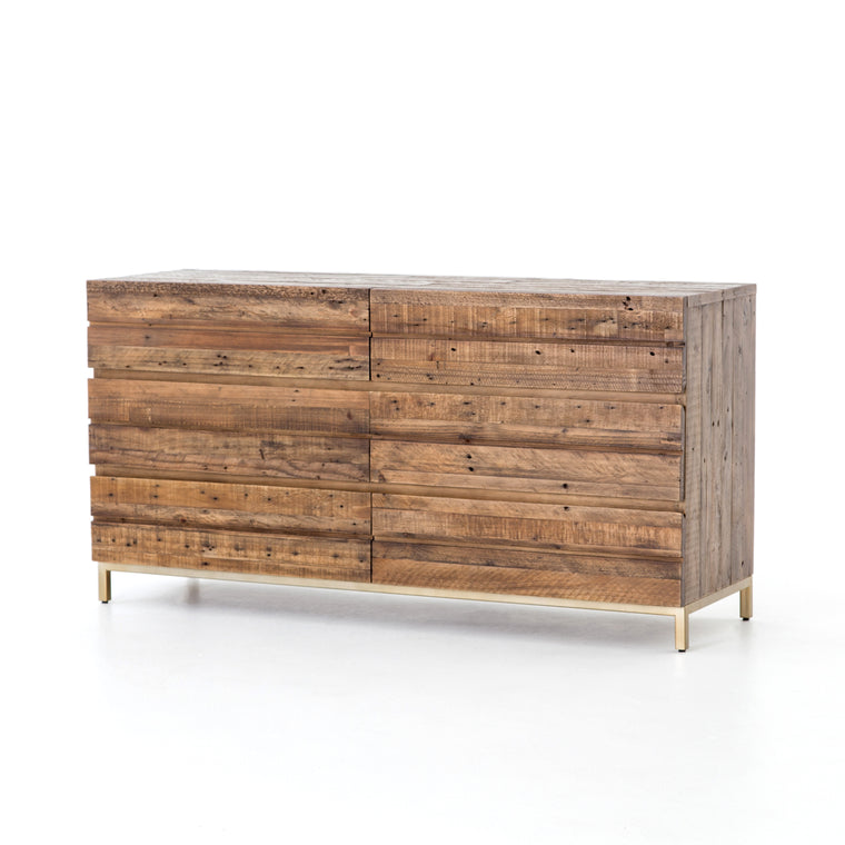 PERRY 6 DRAWER DRESSER