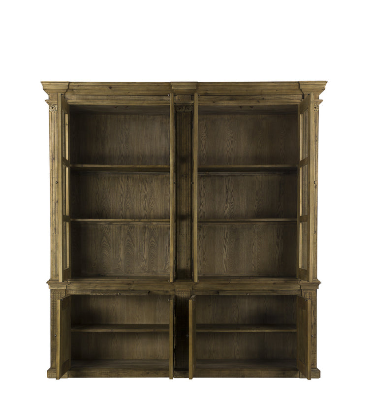 Oxnard 2-Part Bookcase