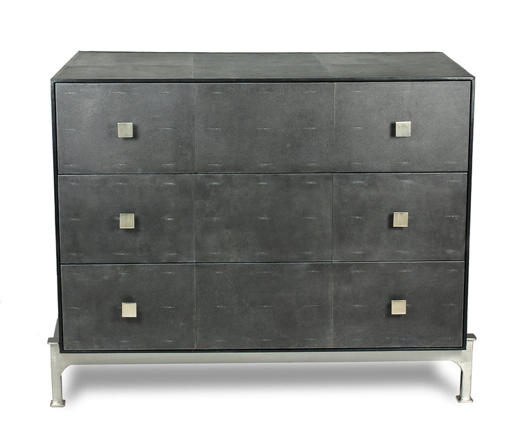 Cortez Midnight Shagreen Chest Of Drawers