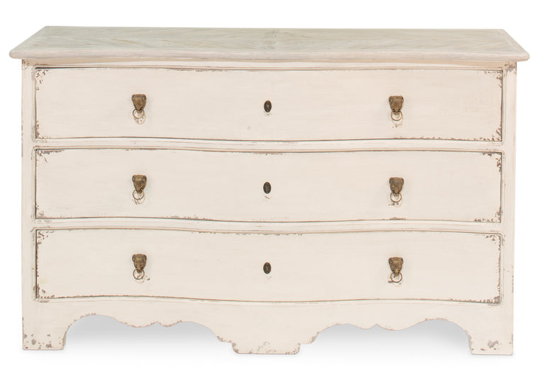 Carmelita Gustavian Chest Of Drawers