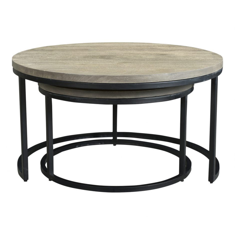 Kohen Round Nesting Coffee Tables Set Of 2