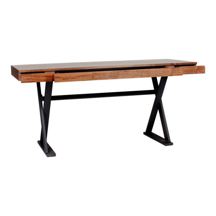 Gamine Desk Walnut