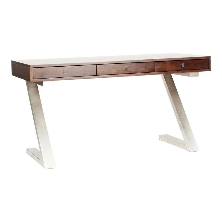 Tilden Desk Dark Brown