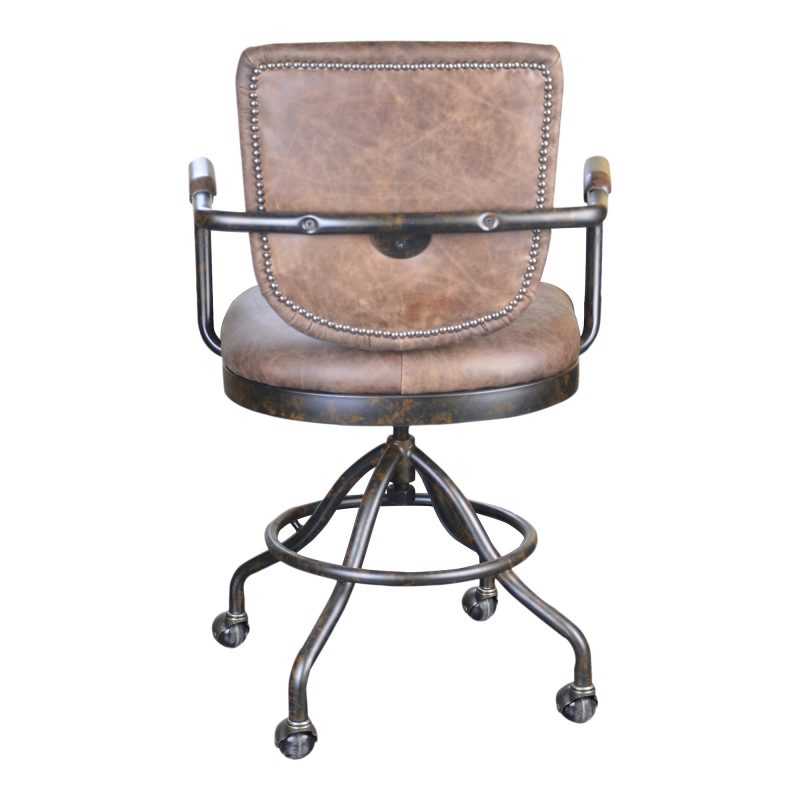 Barris Desk Chair - Soft Brown