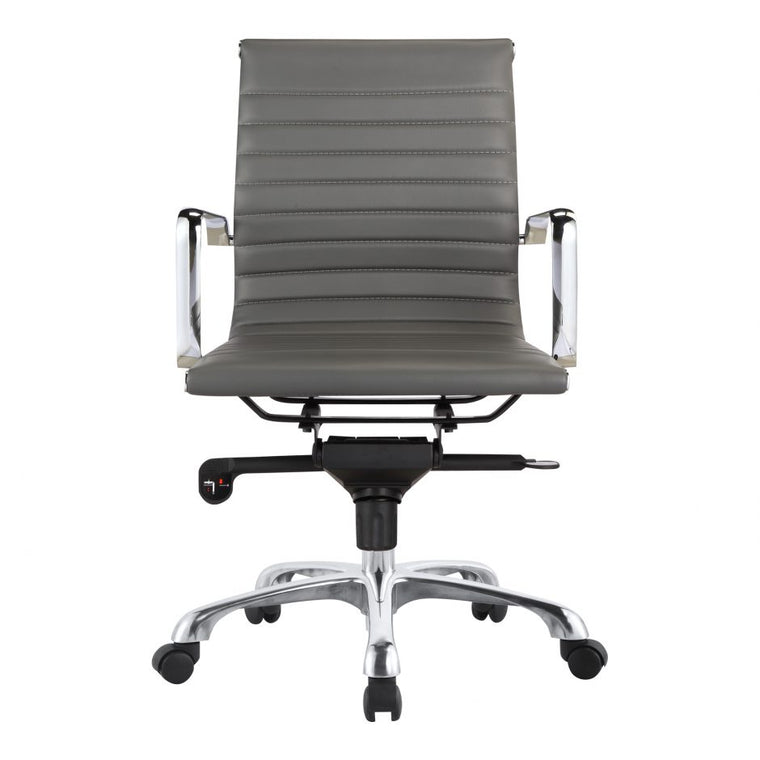 Alpha Office Chair Low Back Grey