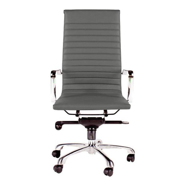 Alpha Office Chair High Back Grey