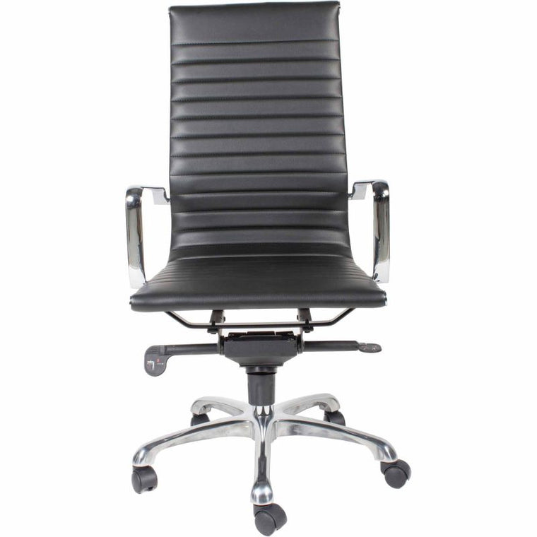 Alpha Office Chair High Back Black