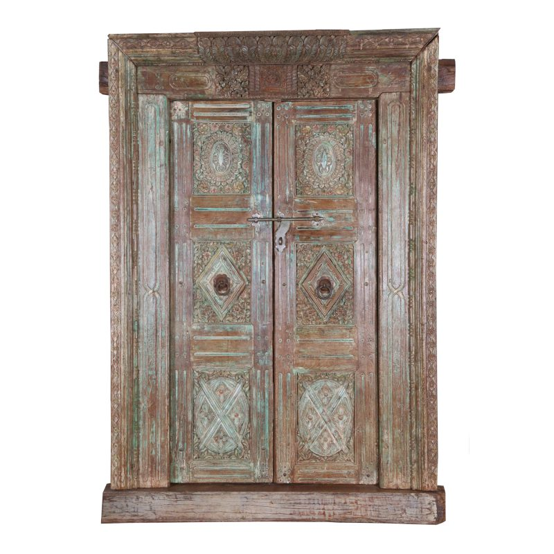 antique-reclaimed-doors-with-frame