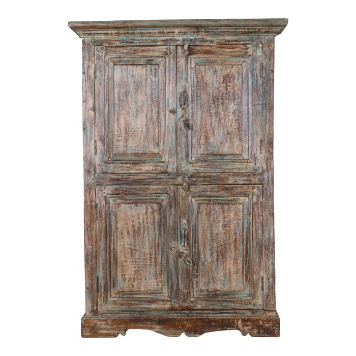 Antique Wood Cabinet #61
