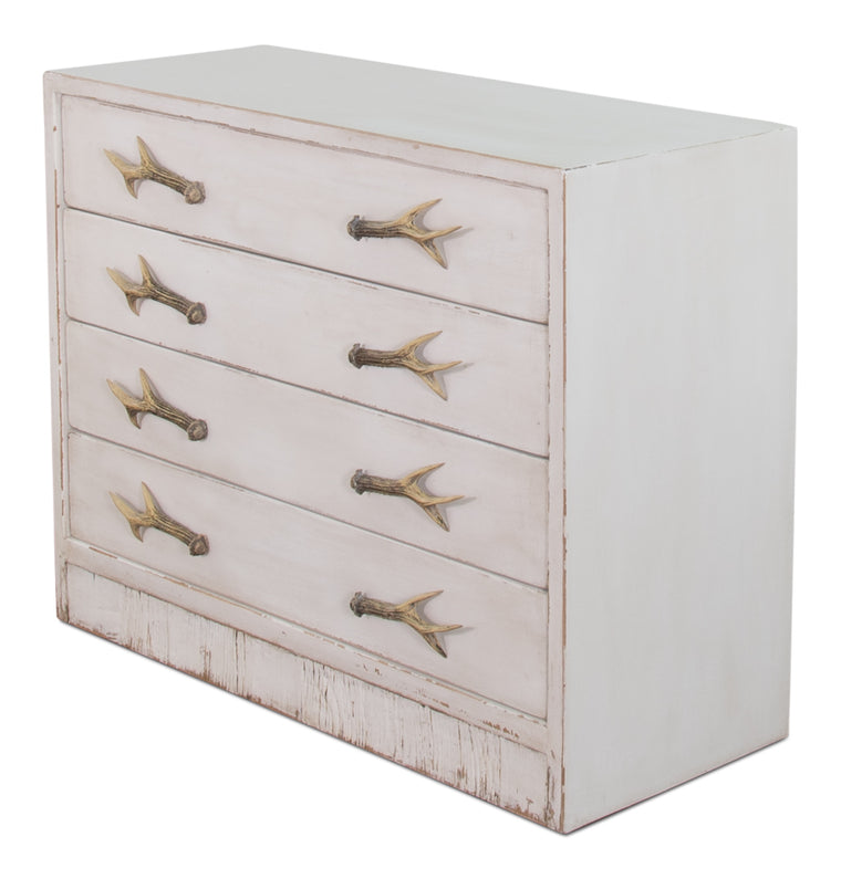 Hunters House Antlers Chest Of Drawers