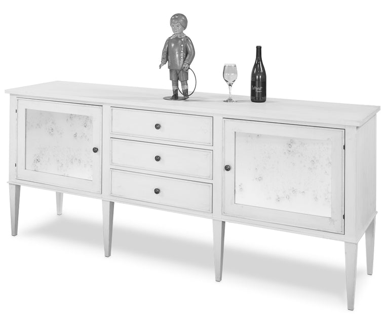 Milania Chicago Modern Dresser, Unfinished Frm