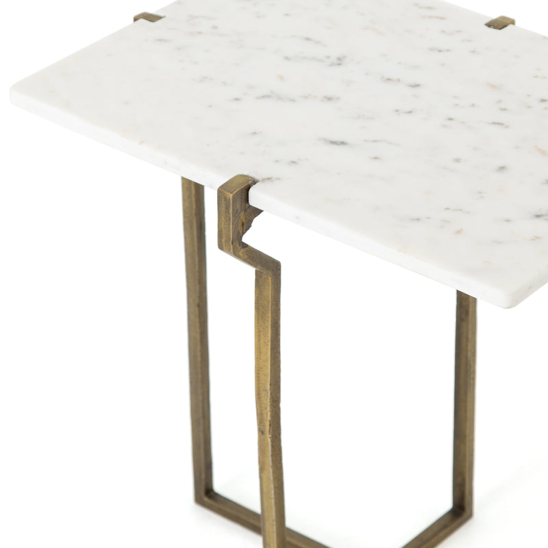 beatrice-end-table-polished-white-marble
