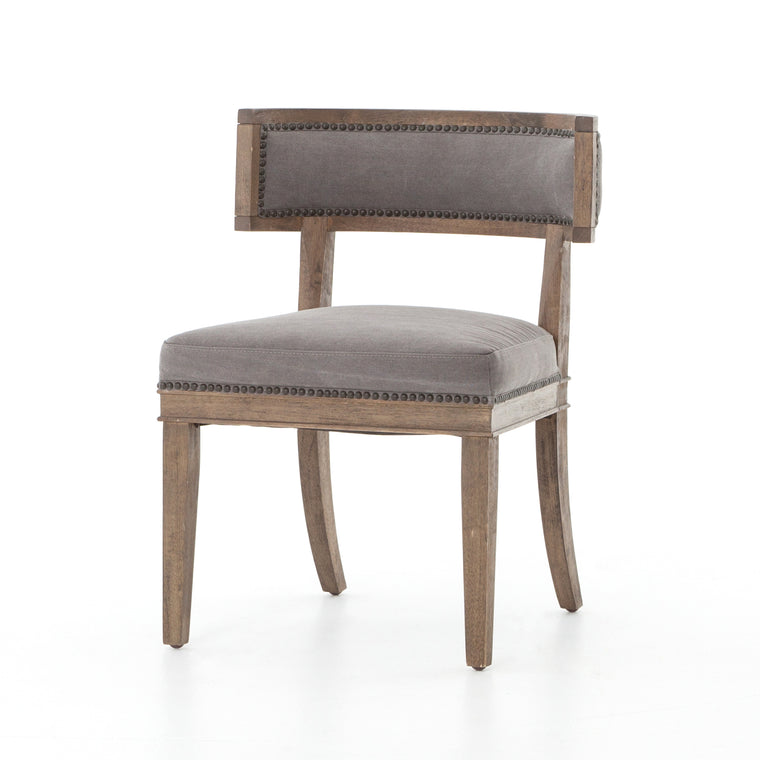 KEEGAN DINING CHAIR- DARK MOON CANVAS