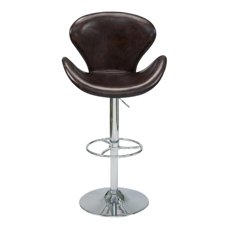 Cashmere Adjustable Stool Brown