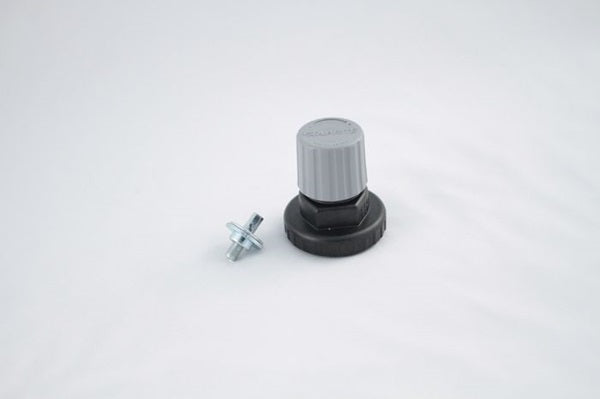 740-602 : Regulator Bonnet Assembly, Polycarbonate, Silver Cap, for Primary CO2 Regulators