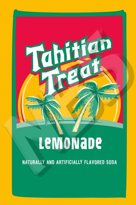 "Tahitian Treat Lemonade UF-1 Valve Decal, VI04641921 2"" x 2 7/8"""