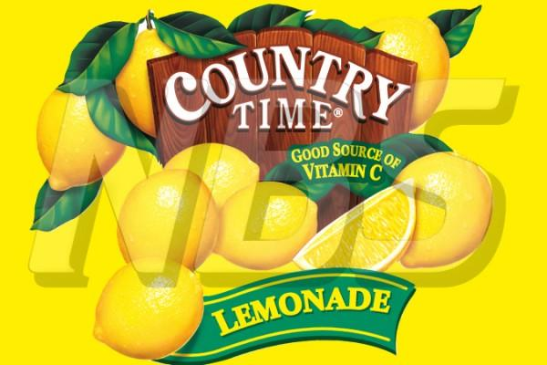 "Country Time Lemonade 63 UF-1 Valve Decal, VI04631841 2"" x 1 1/4"""