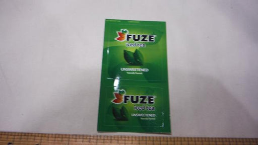 Fuze Unsweet Iced Tea LEV Decal