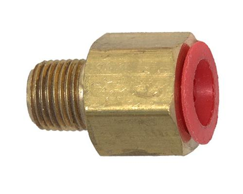 Brass 1/4 FFL X 1/8 MPT Adapter | 10440