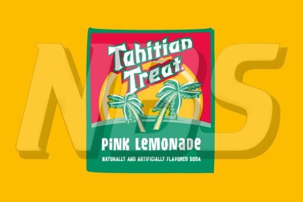 "Tahitian Treat Pink Lemonade 63 UF-1 Valve Decal, VI04631836 2"" x 1 1/4"""