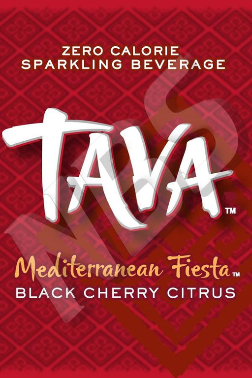 "Tava Black Cherry Citrus UF-1 Valve Decal, VI01641365 2"" x 2 7/8"""