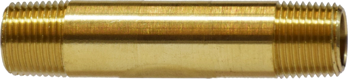 MPT Long Nipple, Brass