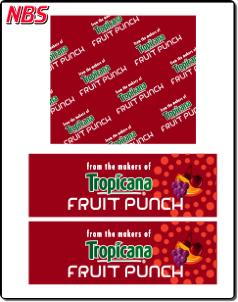 Tropicana Fruit Punch BIB Line Marker, CP011214
