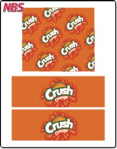 Crush Orange BIB Line Marker, CP041114