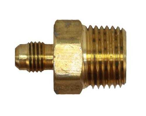 Brass 1/4 MFL X 1/2 MPT Connector
