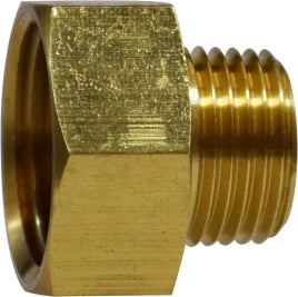Female Garden Hose to Male Pipe, Brass