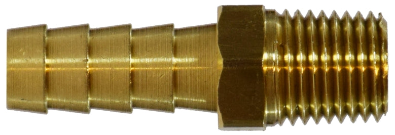 Barb x MPT Hose Adapter, Brass