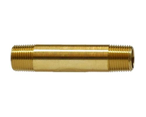 "28140 : Brass 1/8 MPT Long Nipple 1.5"" Length, E215PNL-2-15"