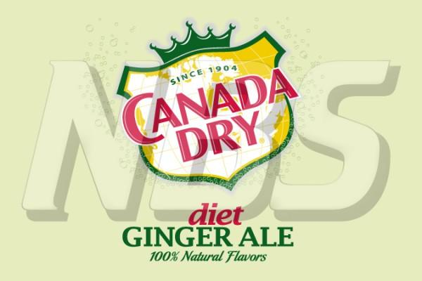 "Canada Dry Gingerale Diet 63 UF-1 Valve Decal, VI04631832 2"" x 1 1/4"""