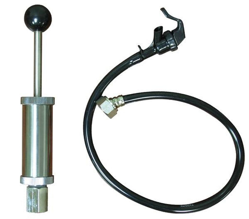 "43-0142-00 : Universal Picnic Tap with 4"" Cylinder Pump, for use with any Existing Keg Coupler (Coupler Not Included)"