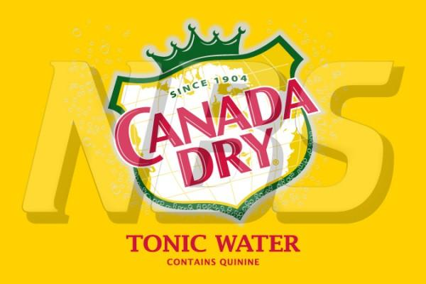 "Canada Dry Tonic Water 63 UF-1 Valve Decal, VI04631833 2"" x 1 1/4"""