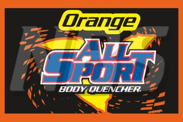 "All Sport Orange 63 UF-1 Valve Decal, VI01631275 2"" x 1 1/4"""