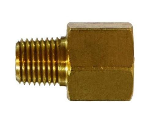 Brass 1/4 FFL X 1/4 MPT Adapter, 10441