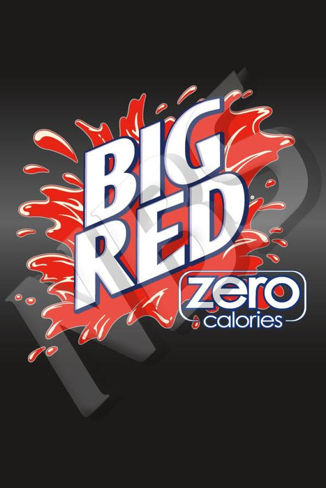 "Big Red Zero UF-1 Valve Decal, VI11641916 2"" x 2 7/8"""