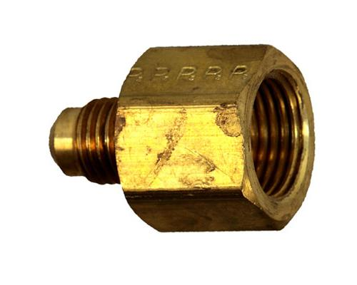Brass 1/4 MFL X 3/8 FFL Adapter, 661FHD-4-6, 10462