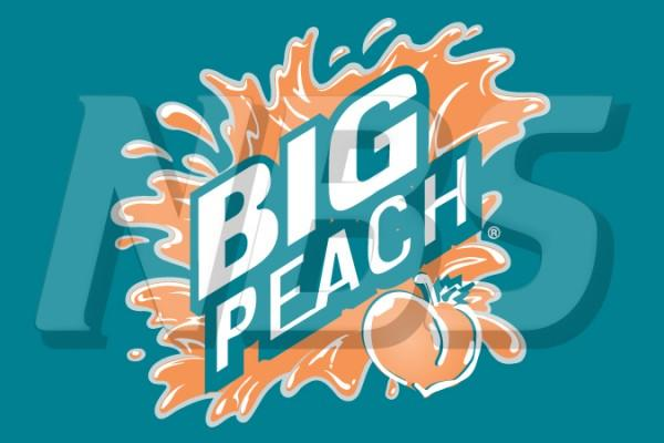 "Big Peach 63 UF-1 Valve Decal, VI11631827 2"" x 1 1/4"""