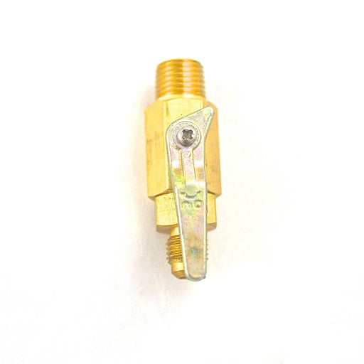 "6600A - Shut-off Valve, 1/4""NPT x 1/4"" Flare, No Check Valve"