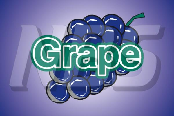 Grape UF-1 Fountain Valve Decal, VI05632864