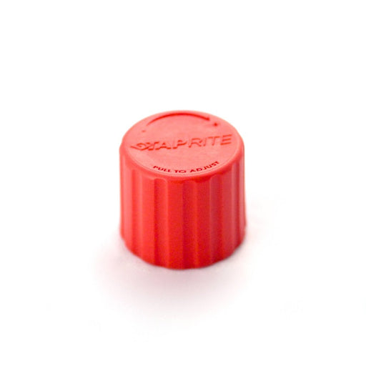 740-504: Regulator Bonnet Replacement Cap, Polycarbonate, Red