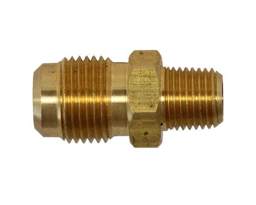 Brass 1/2 MFL X 1/4 MPT Connector